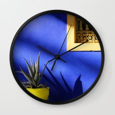 Moroccan Gardens Wall Clock