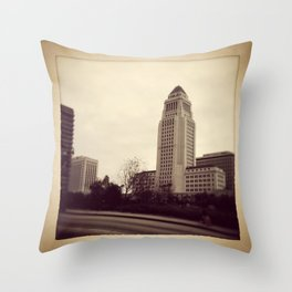 old LA Throw Pillow
