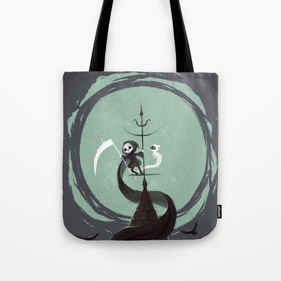 Night Hunt Tote Bag