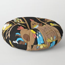 Chicken Coop 2020 Floor Pillow