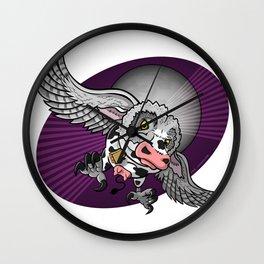 Mutant Zoo - Cowl Wall Clock