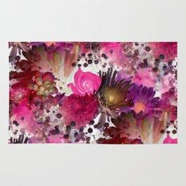 Flower Garden in Pinks Rug