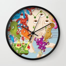 Mind's Eye for the Third Eye Wall Clock