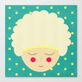 Am shy Canvas Print