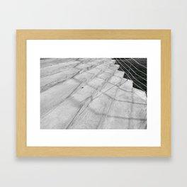 Stairs in Oslo I Framed Art Print