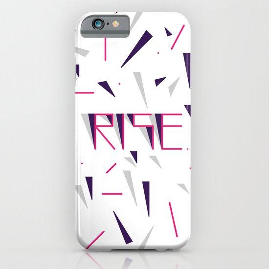 Rise No.2 - White iPhone & iPod Case