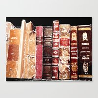 books Canvas Prints featuring Books by Regan's World