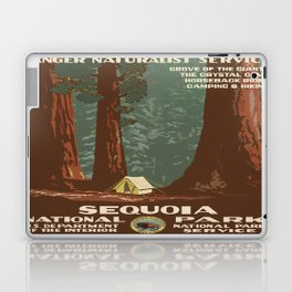 Vintage poster - Sequoia National ParkX Laptop & iPad Skin