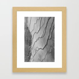 biscuit basin or just squiggles Framed Art Print