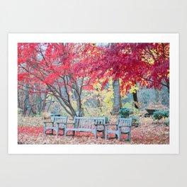 Heaven Autumn Day Art Print