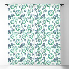 Watercolor Sand Dollar Blackout Curtain