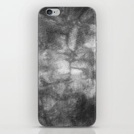 Black and White Tie Dye iPhone Skin