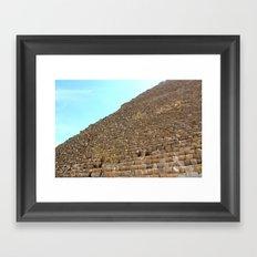 Khufu Framed Art Print