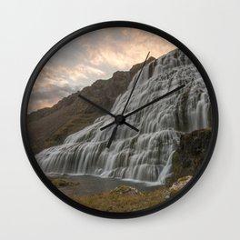 Dynjandi 2 Wall Clock