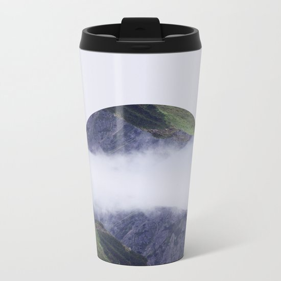 I found you dreaming.  Metal Travel Mug