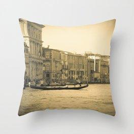Venice, Grand Canal 5 Throw Pillow