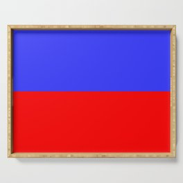Flag of assisi Serving Tray
