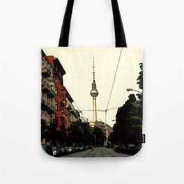 Berlin Retro Tote Bag