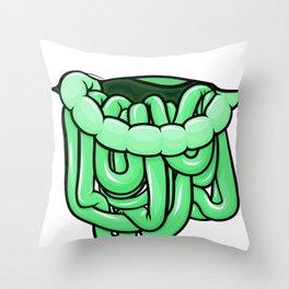 viscera : melon Throw Pillow