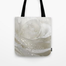 Rose white 0115 Tote Bag