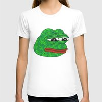rare T-shirts featuring Rare Pepe by Mischievie