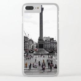 Trafalgar Square // London, UK Clear iPhone Case