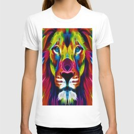 Colourful Lion T-shirt
