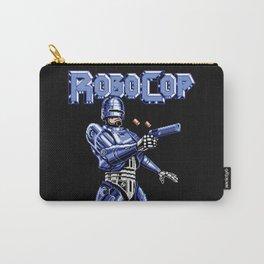 Robocop Glitch Art Carry-All Pouch
