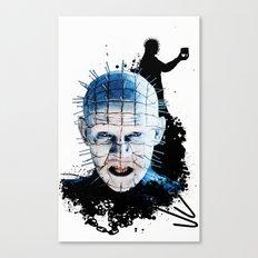 Pinhead: Monster Madness Series  Canvas Print