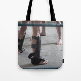 Muay thai training ii Tote Bag