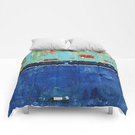 Dress Blues Comforters