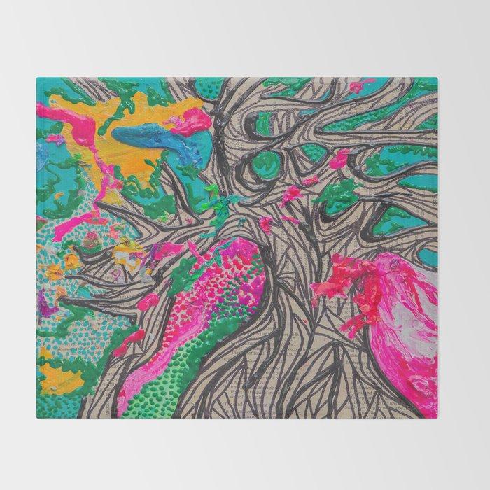 Grow Slow Throw Blanket