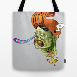 Zombie_by LelosLovesYou Tote Bag