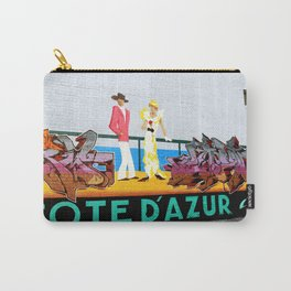 Cote d'Azur Graffiti - Tag Tag Tag Carry-All Pouch