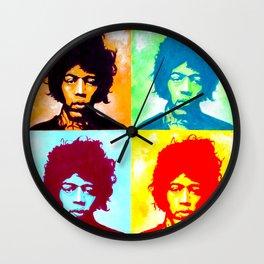 Guitar Hero Pop Art Wall Clock