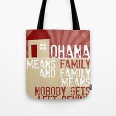Ohana Means Family - Lilo & Stitch Tote Bag