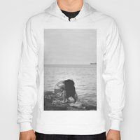alone Hoodies featuring Alone  by PhotoStories