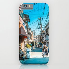 Anime Tokyo Streets iPhone Case