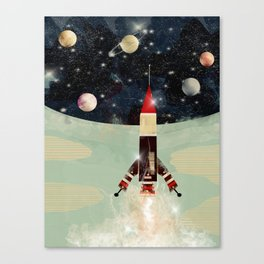 explorer 1 Canvas Print