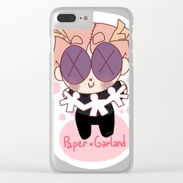 Paper garland! (Vow Doo) Clear iPhone Case