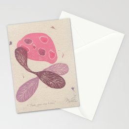 There goes my brain Stationery Cards