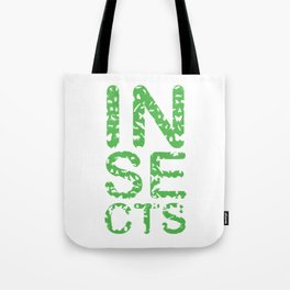 Insects Entomology Insecta Animals Little Fly Ladybugs Butterfly Flies Beetles Gift Tote Bag