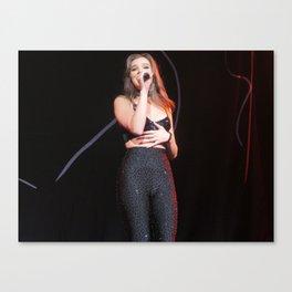 Hailee S live at Radio City Canvas Print