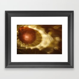 Abstract light reflections Framed Art Print