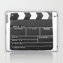 Film Movie Video production Clapper board Laptop & iPad Skin