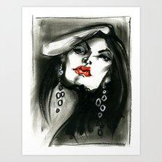 Vermilion Art Print