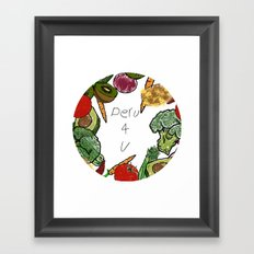 Peru 4 U Merch - Produce Aisle Tee Framed Art Print