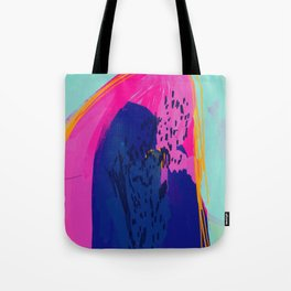 The Mountain Of Color Tote Bag