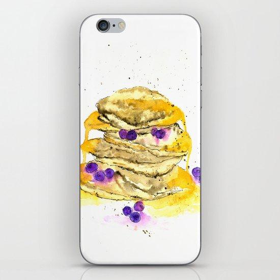 fluffy pancake iPhone Skin
