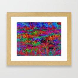 Scratchy Framed Art Print